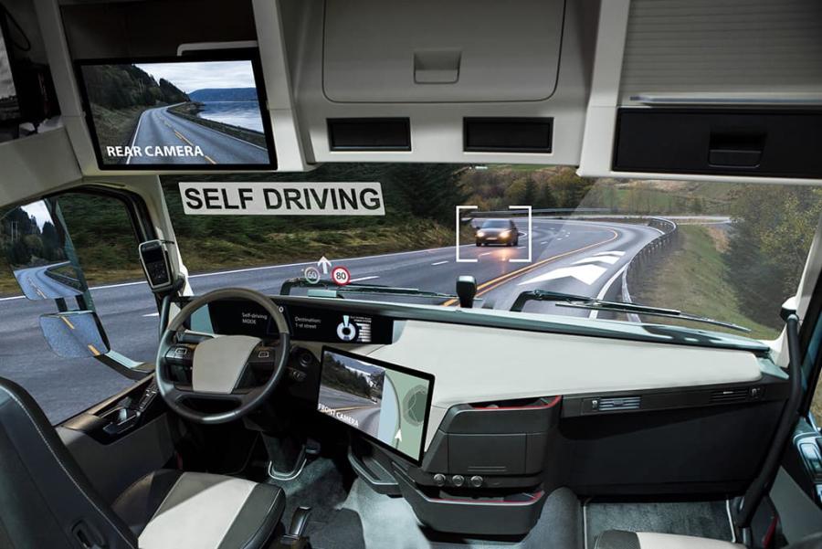Camiones autónomos - transporte y logística