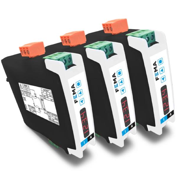 Convertidor de señales eléctricas I4E de FEMA